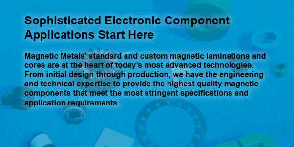 Sophisticated Electronic Component Applications Start Here